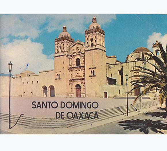 Santo Domingo de Oaxaca, book cover