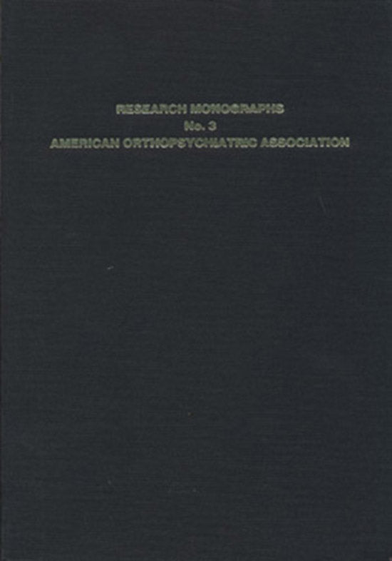 A Visual Motor Gestalt Test and Its Clinical Use, book cover