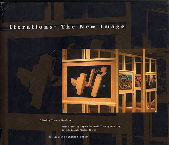 Book Cover. Iterations: The New Image