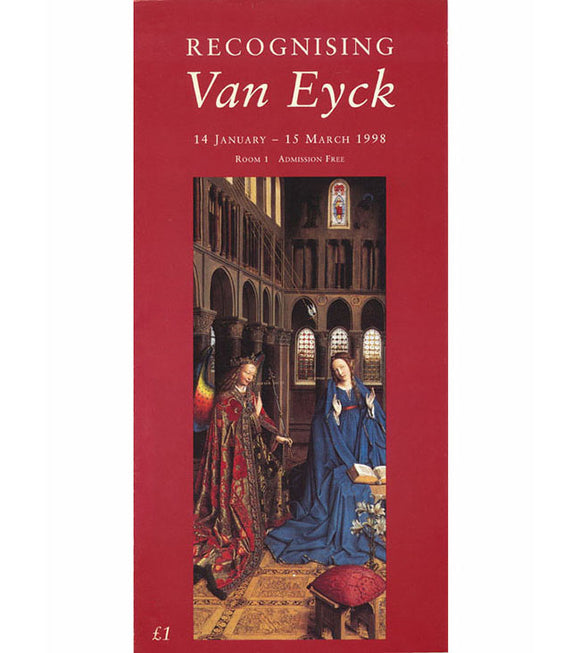 Cover. Recognising Van Eyck (Exhibition Brochure)