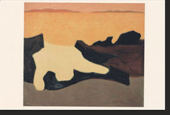 Exhibition Postcard: Milton Avery: The Late Paintings
