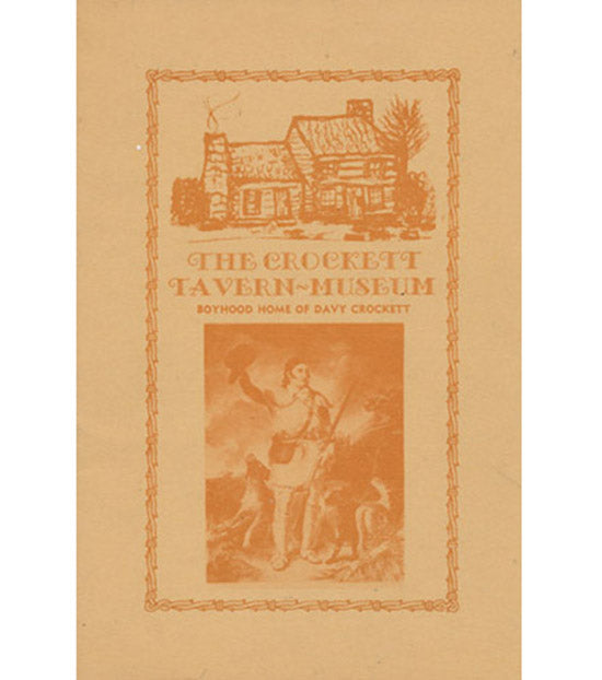 The Crockett Tavern-Museum:  Boyhood Home of Davy Crockett, book cover