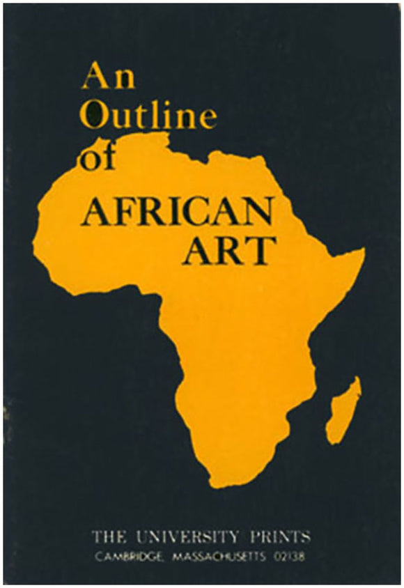 An Outline of African Art, book cover