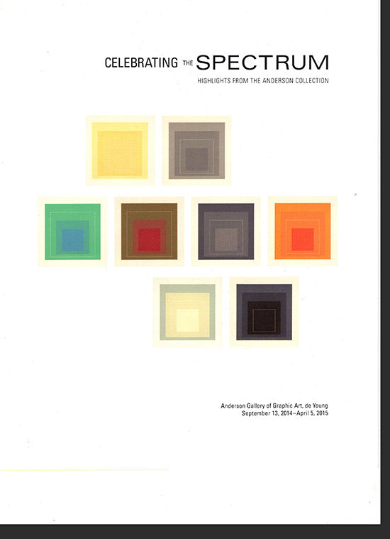 Celebrating the Spectrum: Highlights from the Anderson Collection, cover