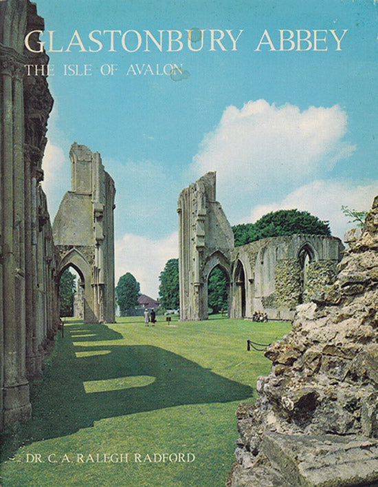 Glastonbury Abbey: The Isle of Avalon, book cover