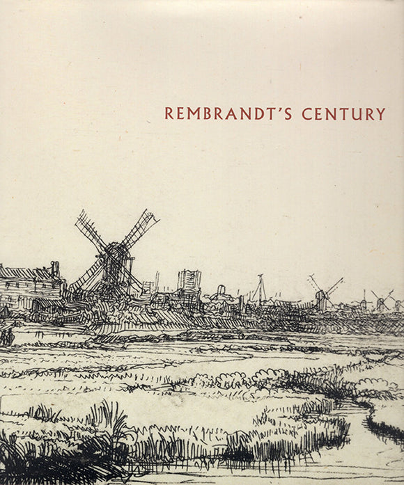 Book Cover. Rembrandt's Century