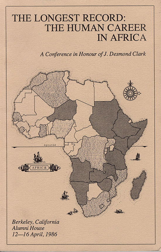 The Longest Record: The Human Career in Africa (A Conference in Honour of J. Desmond Clark), Book Cover