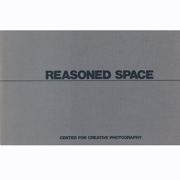 Reasoned Space: An Exhibition, book cover