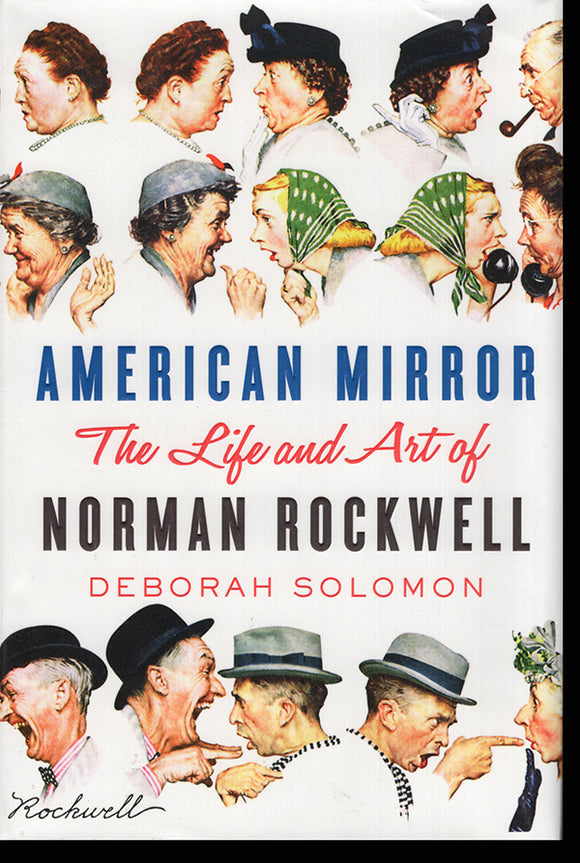 American Mirror: The Life and Art of Norman Rockwell, book cover