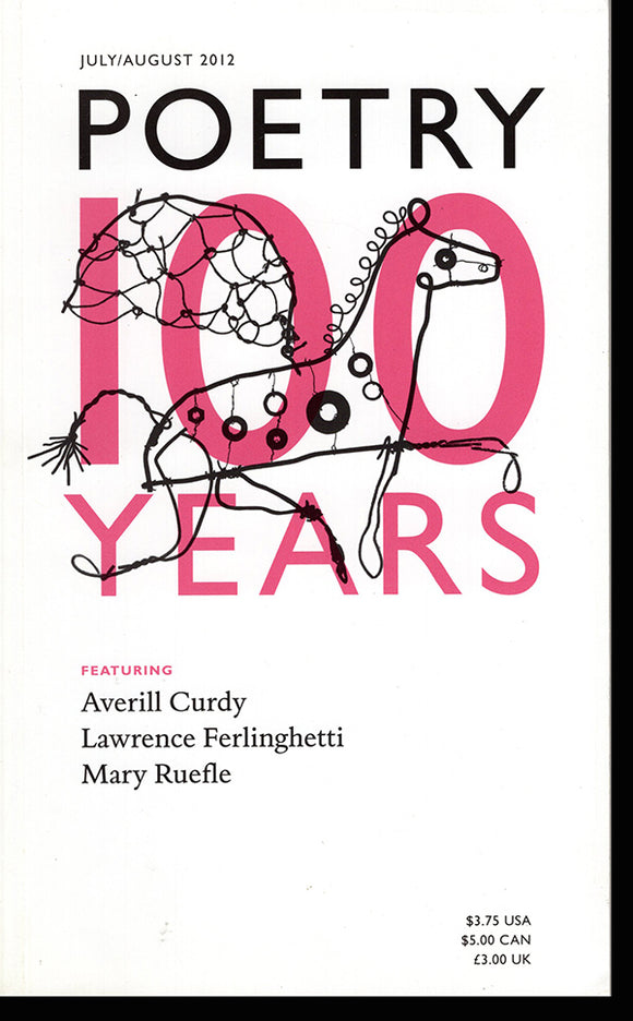 Poetry: 100 Years (Vol 20, No. 5, July/August), book cover