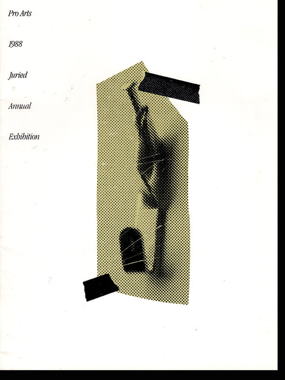 1988 Pro Arts Juried Annual Exhibition, book cover