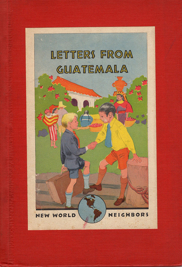 Letters From Guatemala, book cover