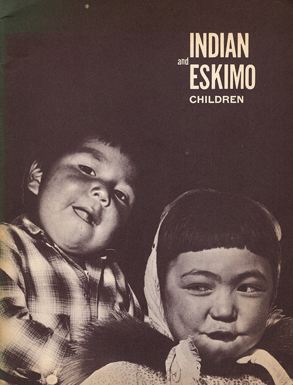 Indian and Eskimo Children (with letter and press release)