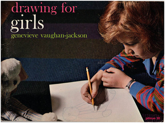 Drawing for Girls (Pitman 30), book cover