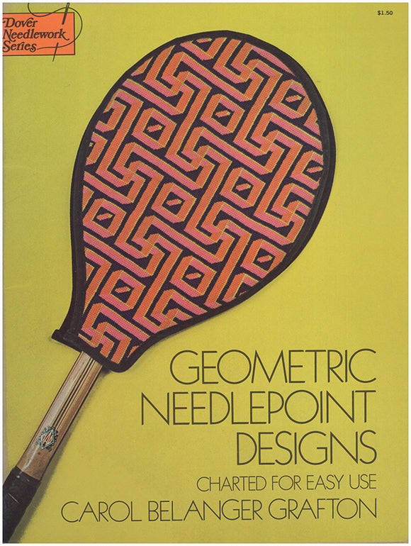 Geometric Needlepoint Designs: Charted for Easy Use.