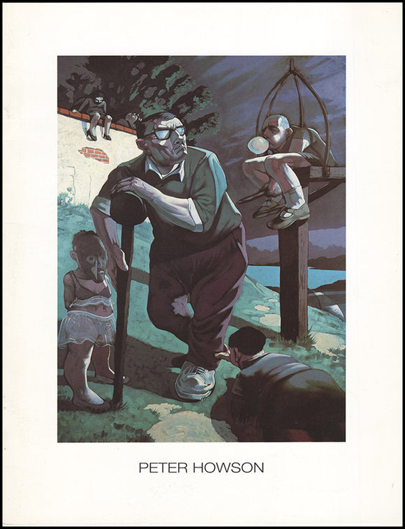 Book Cover. Peter Howson: Art LA '90 (Los Angeles International Art Exposition, 6-10 December 1990)