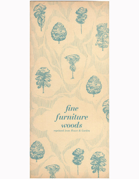 Cover: Fine Furniture Woods