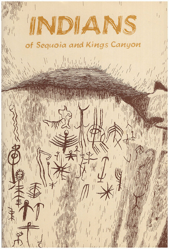 Book Cover. Indians of Sequoia and Kings Canyon.