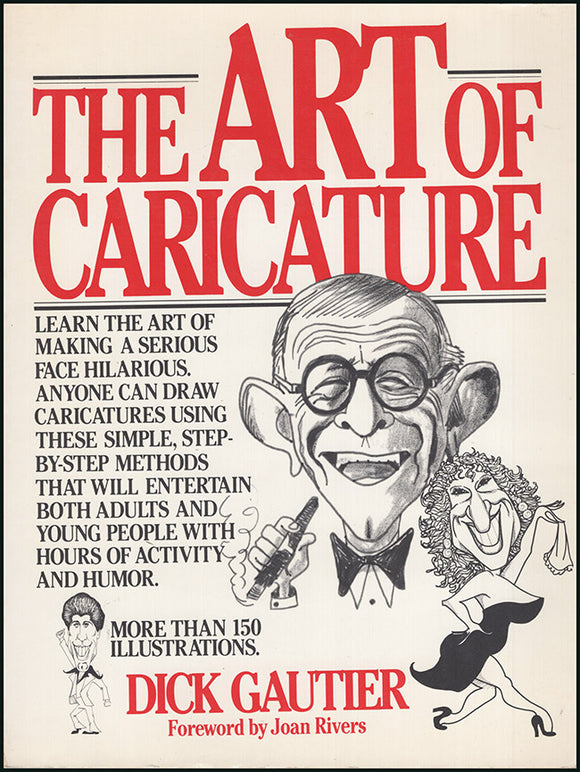 Book Cover. The Art of Caricature.