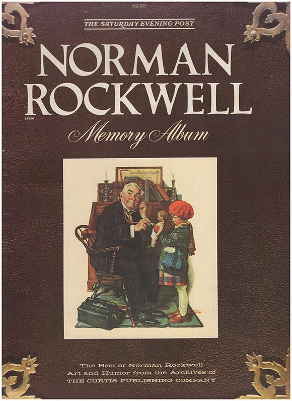 Book Cover. Norman Rockwell Memory Album: The Saturday Evening Post.