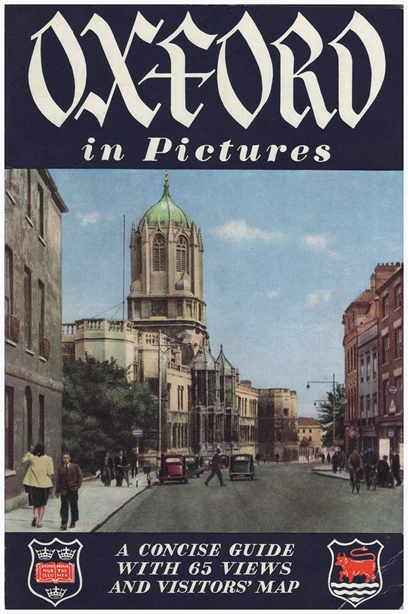 Cover: Oxford in Pictures: A Concise Guide with 65 views and Visitors' Map