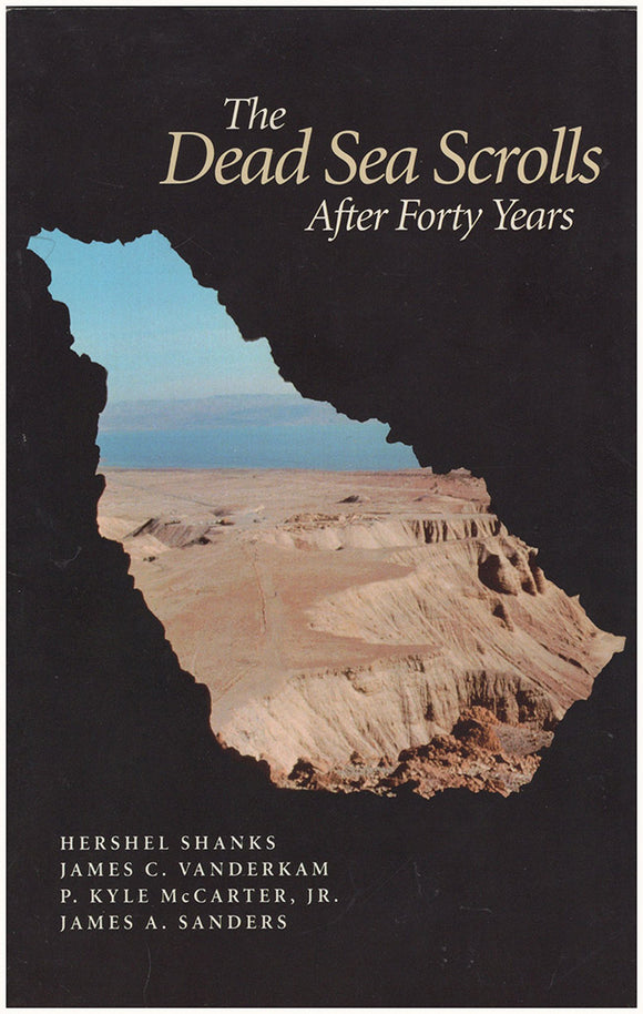 Book Cover. The Dead Sea Scrolls After Forty Years (Symposium at the Smithsonian Institution, Oct. 27, 1990)