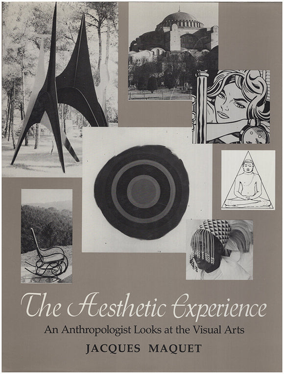 The Aesthetic Experience: An Anthropologist Looks at the Visual Arts. Book Cover.