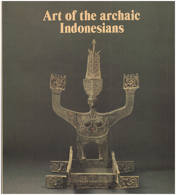 Art of the Archaic Indonesians. Book Cover.