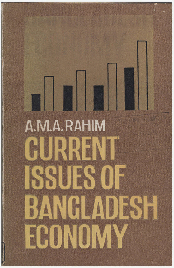 Current Issues of Bangladesh Economy. Book Cover.