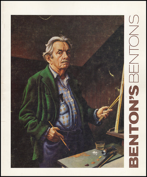 Book Cover. Benton's Bentons: Selections from the Thomas Hart Benton and Rita P. Benton Trusts
