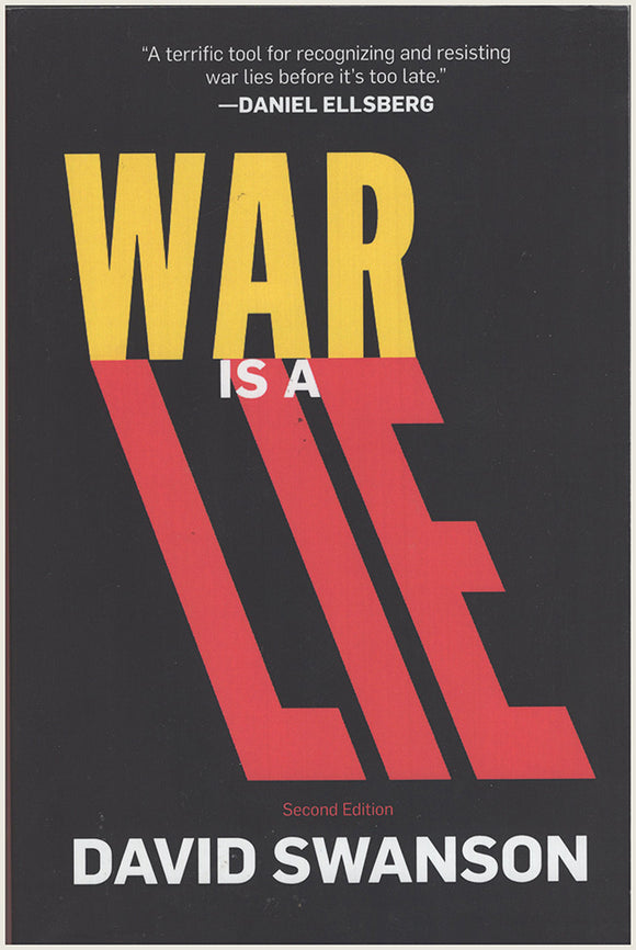 Book Cover. War Is A Lie by David Swanson