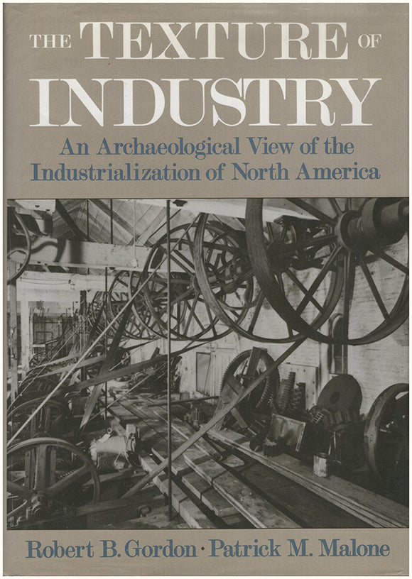 Book Cover. The Texture of Industry
