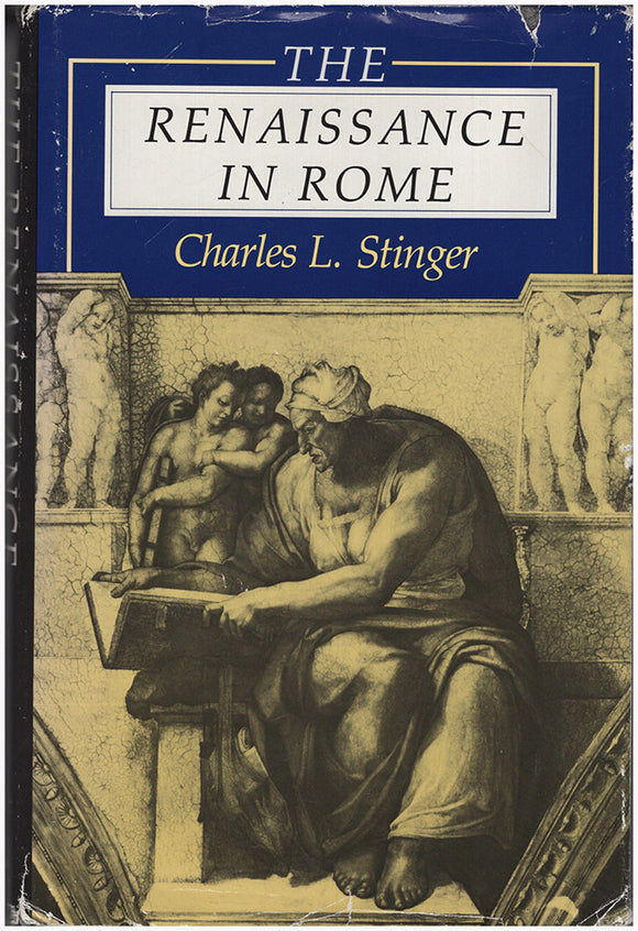 Book cover. The Renaissance in Rome.