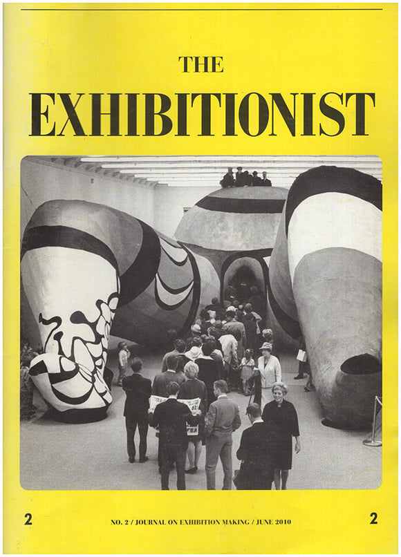 Cover. The Exhibitionist: Journal on Exhibition Making (No. 2, June 2010)
