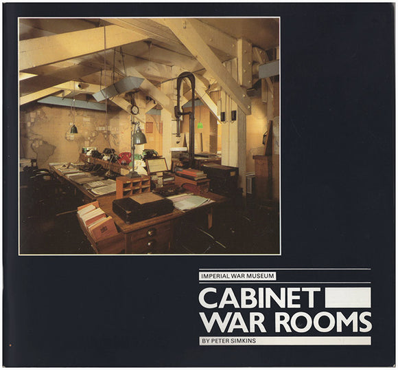 Book Cover. Cabinet War Rooms.