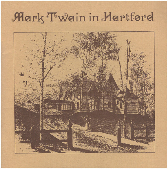 Book Cover. Mark Twain in Hartford.