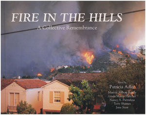 Book Cover. Fire in the Hills: A Collective Remembrance.