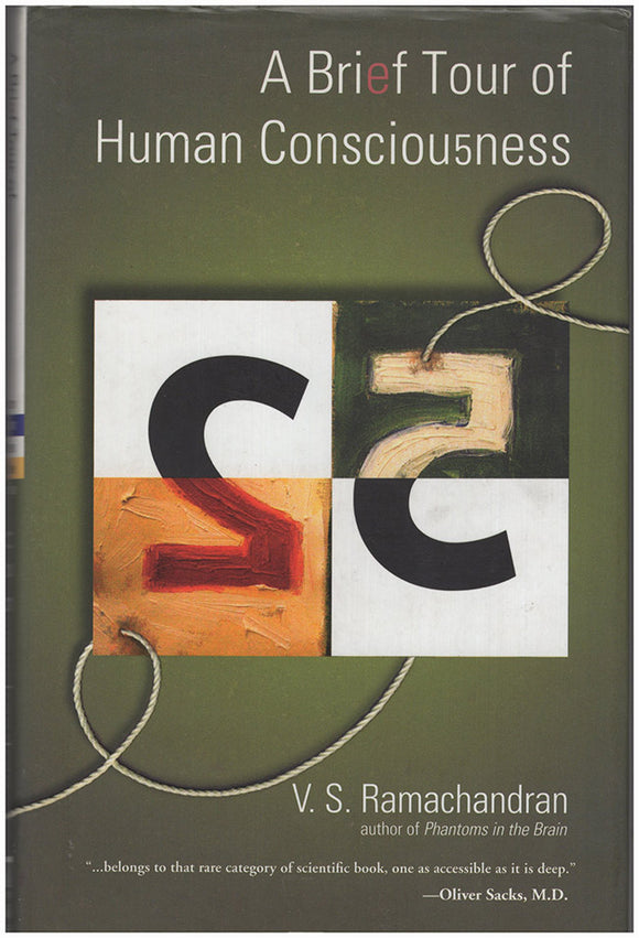 Book Cover. A Brief Tour of Human Consciousness: From Impostor Poodles to Purple Numbers.
