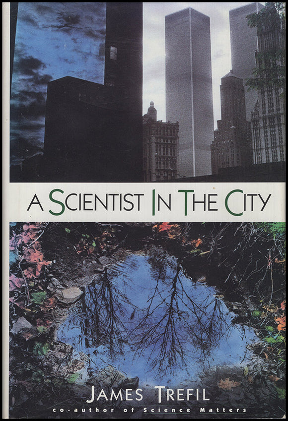 Book Cover. A Scientist in the City.