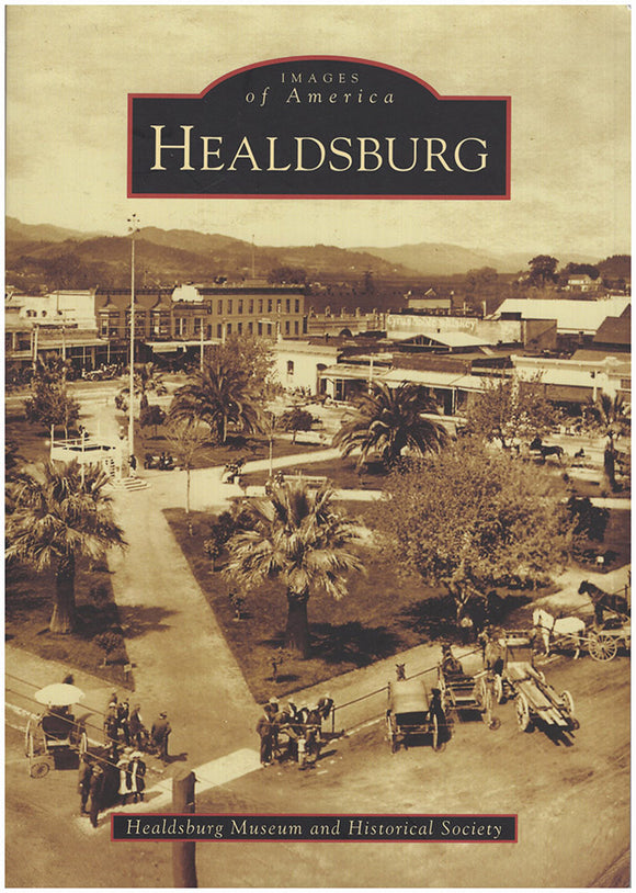 Book Cover. Healdsburg (Images of America).