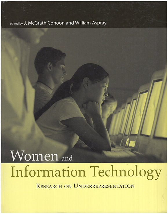 Book Cover. Women and Information Technology: Research on Underrepresentation.