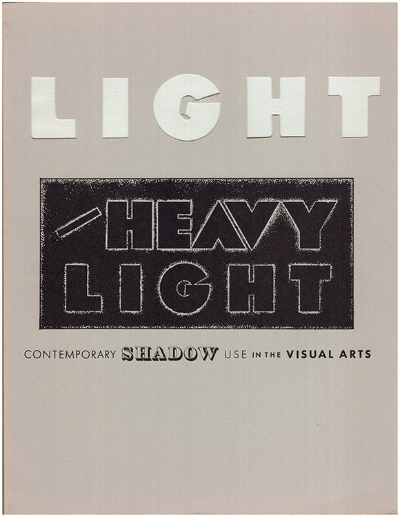 Light and Heavy Light: Contemporary Shadow Use in the Visual Arts
