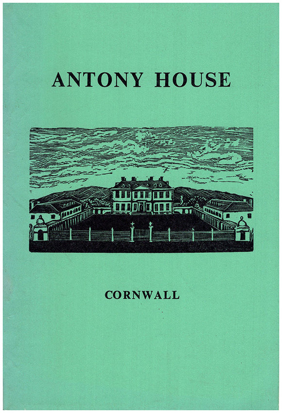 Antony House Cornwall: A Property of The National Trust