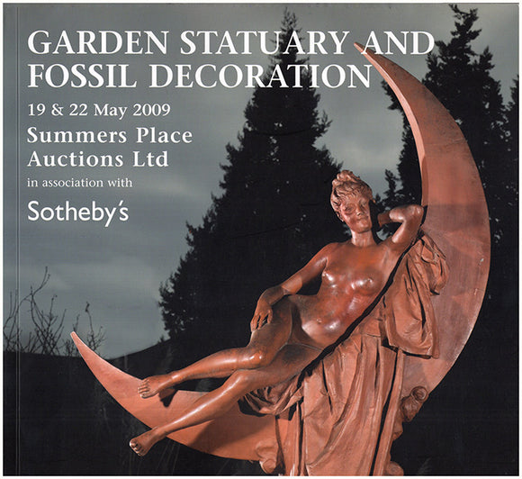 Garden Statuary and Fossil Decoration, 19 and 22 May 2009
