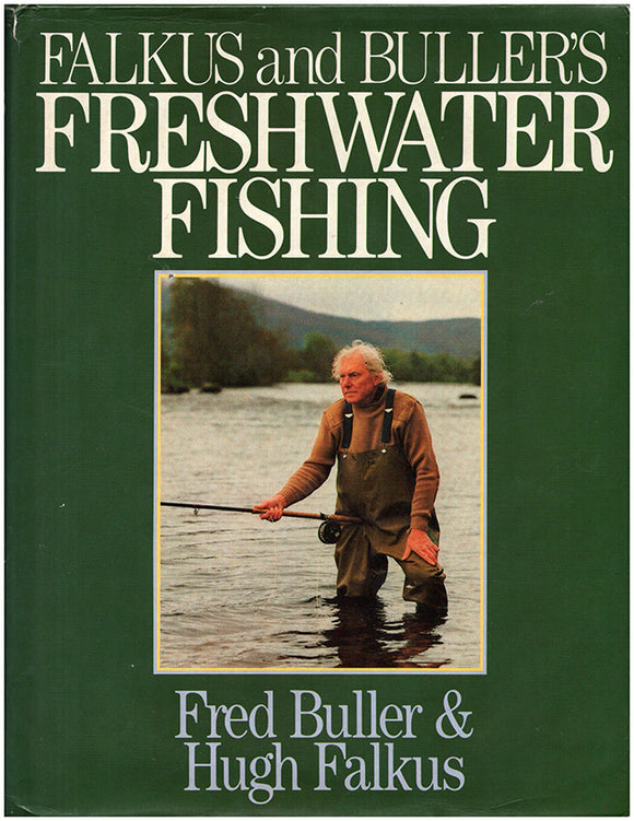 Falkus and Buller's Freshwater Fishing Book Cover