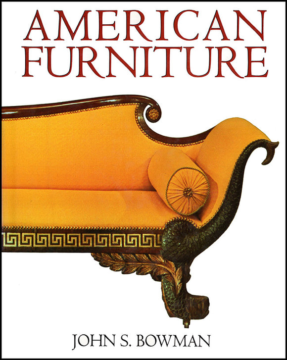 American Furniture, book cover