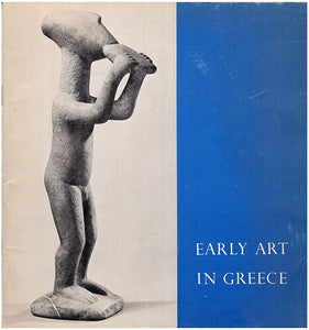 he Cycladic, Minoan, Mycenaen and Geometric Periods, book cover
