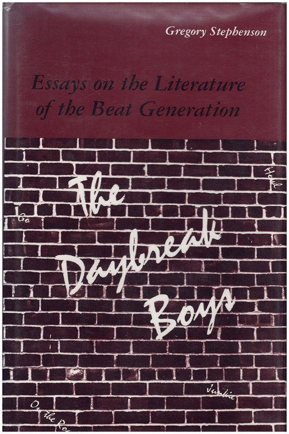 The Daybreak Boys: Essays on the Literature of the Beat Generation, book cover
