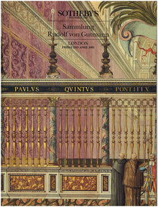Sammlung Rudolf von Gutmann (Sotheby's London Sale 93203: Friday 2nd April 1993), book cover