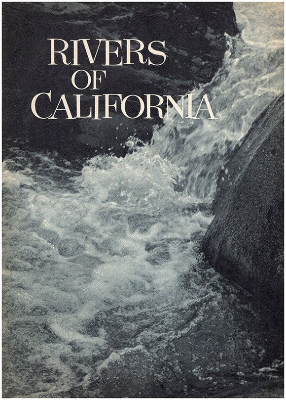 Rivers of California, book cover